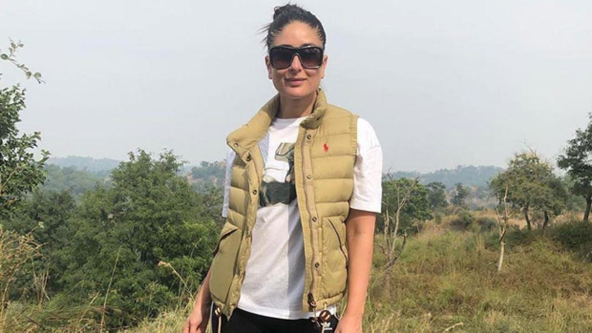 Kareena Kapoor Khan takes a break from work, goes trekking on mountains