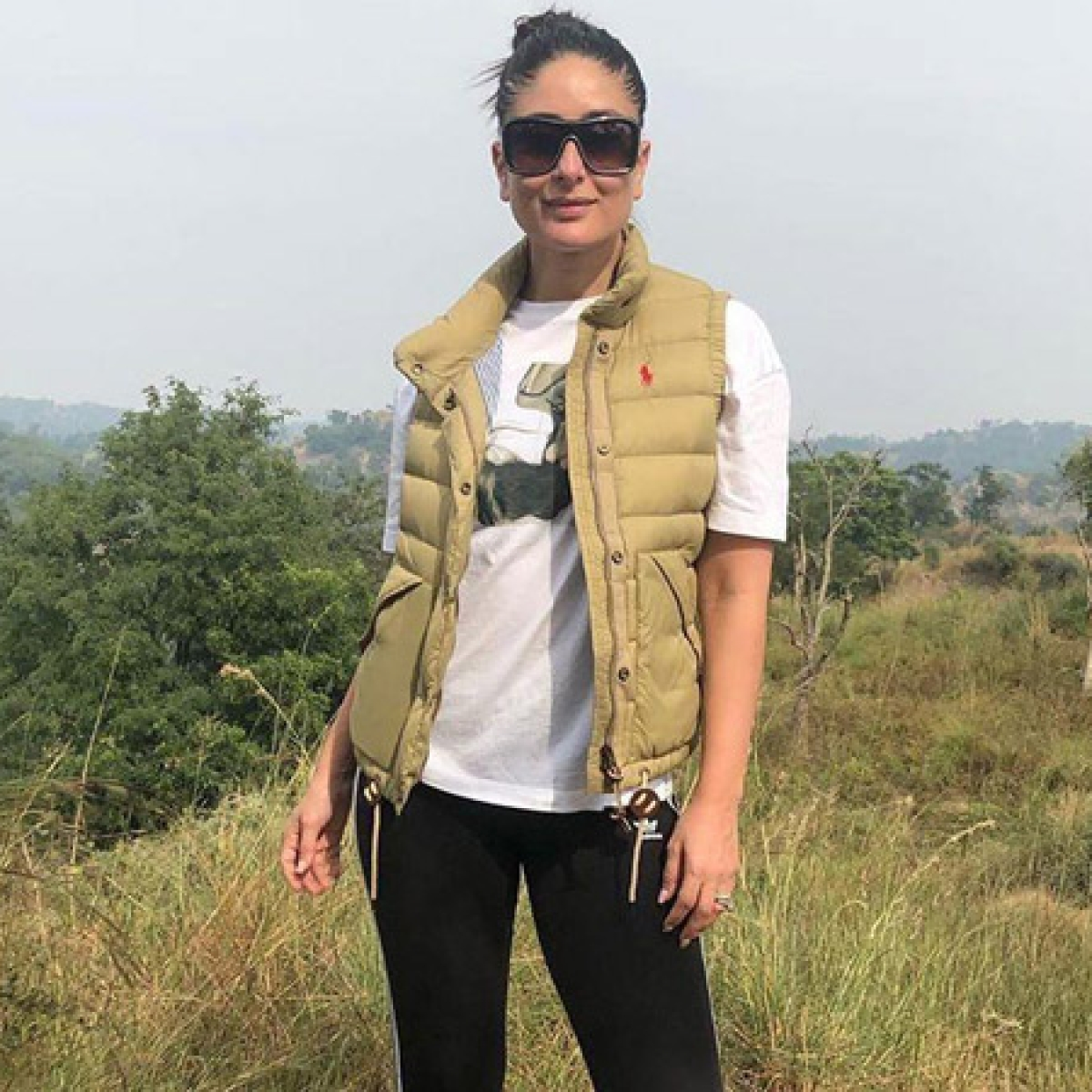 Kareena Kapoor Khan takes a break from work, goes trekking on mountains