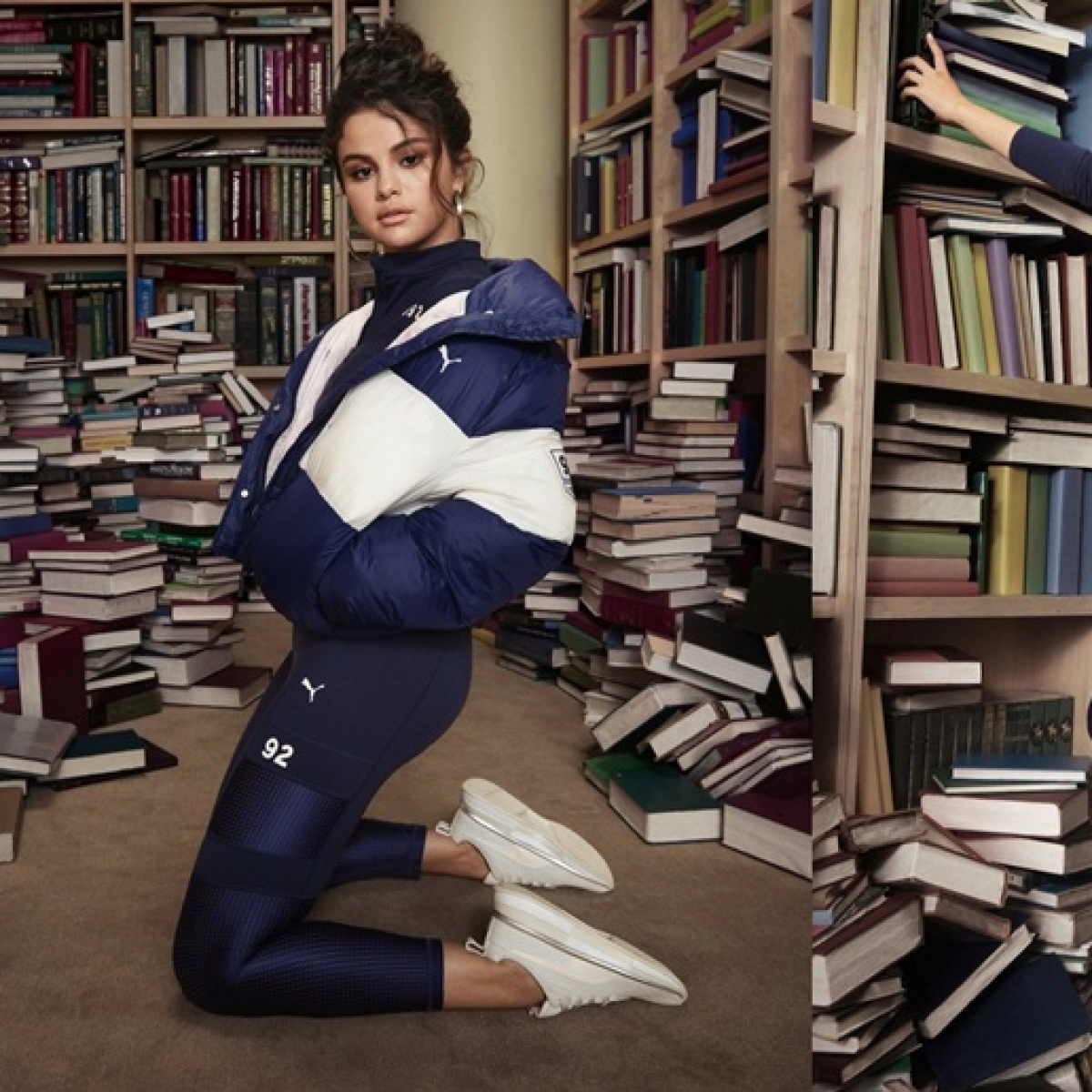 Saraswati Mata will slap you: Desi Twitter is mad at Selena Gomez for standing on books