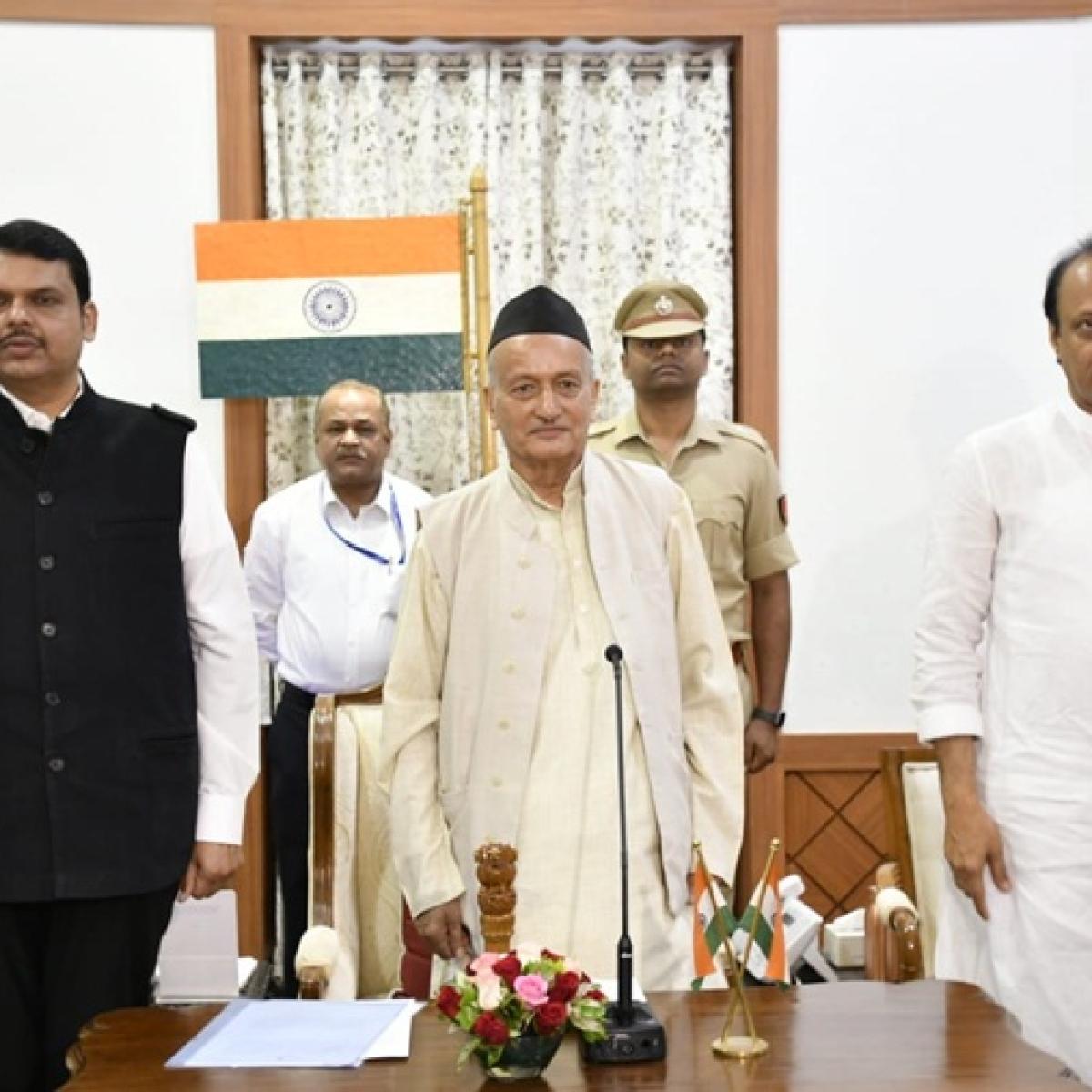Maha govt formation: How even Doordarshan had no 'darshan' of Fadnavis' swearing-in