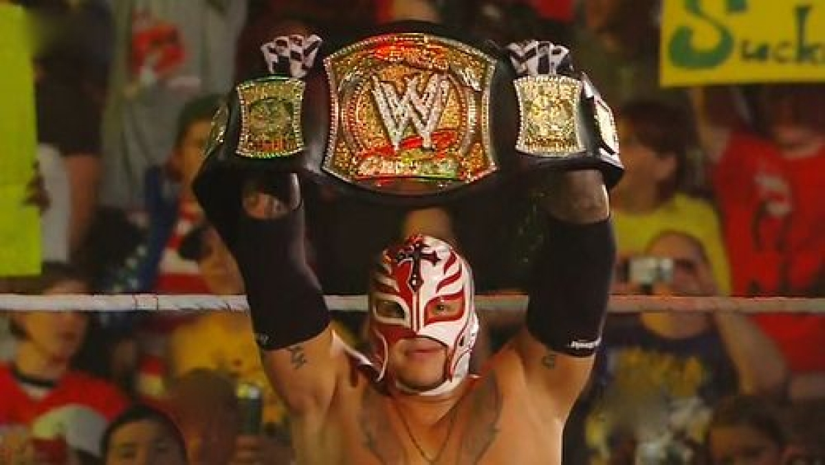 Rey Mysterio becomes the US Champion