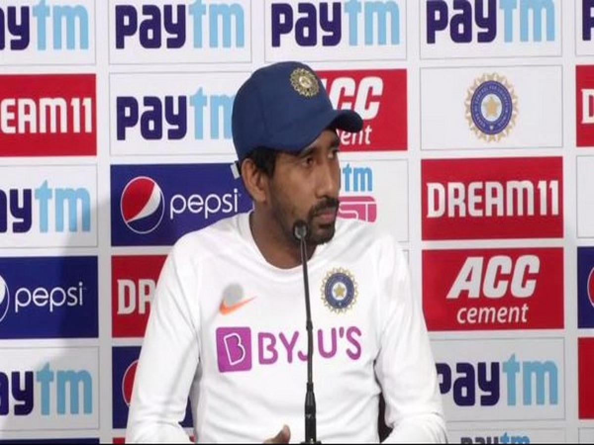 Pink or red - Wriddhiman Saha is confident that India's bowlers will rip through Bangladesh