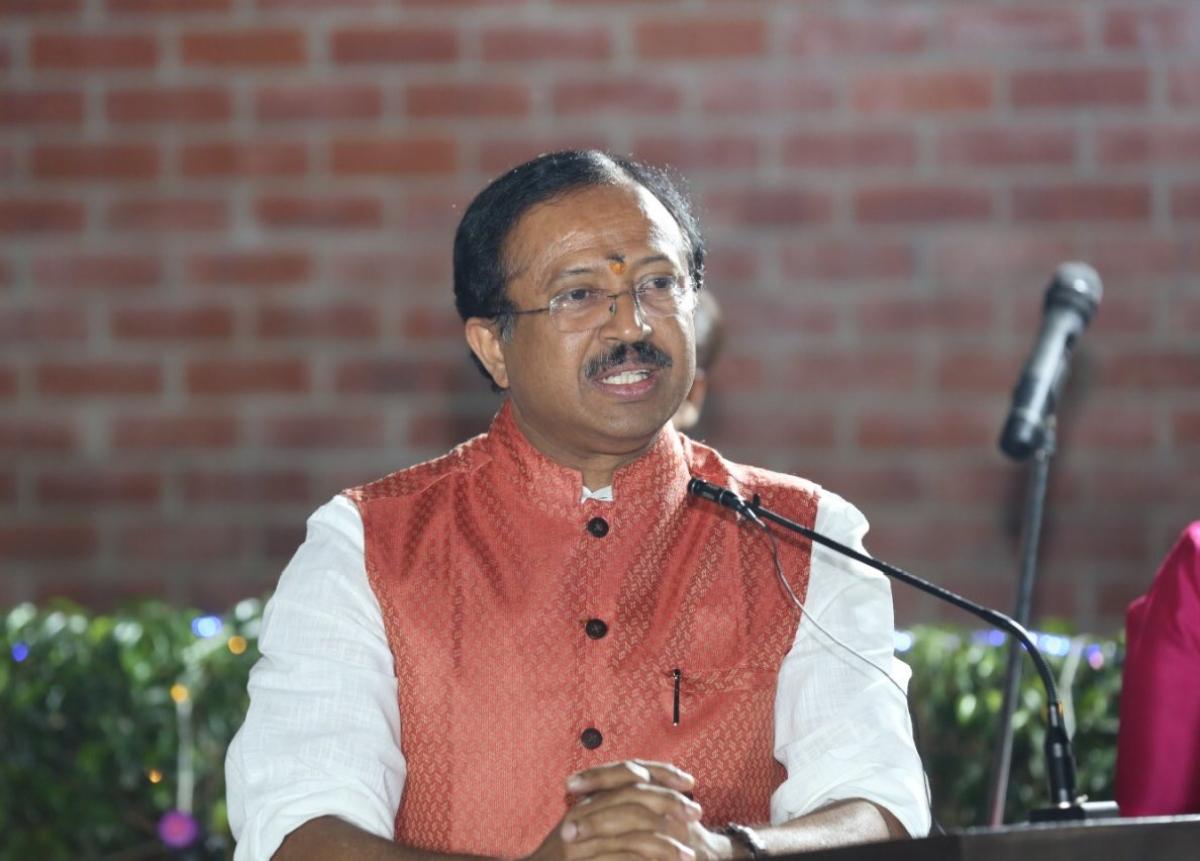 Minister of State for External Affairs, V Muraleedharan