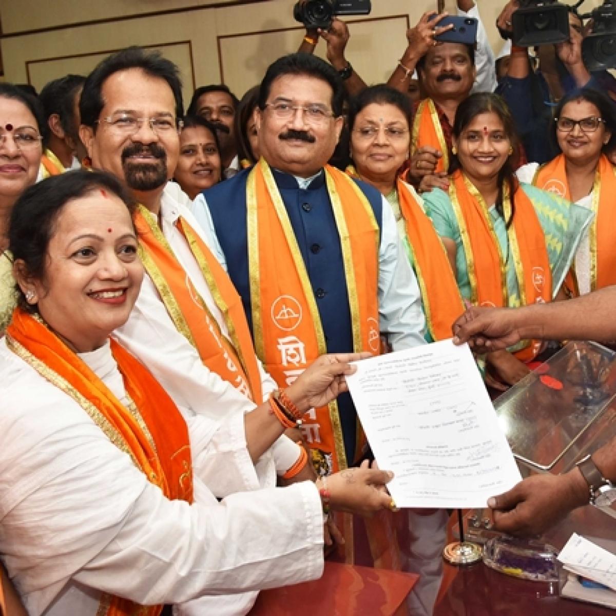 Mayoral election: Unopposed, Shiv Sena set to sail through