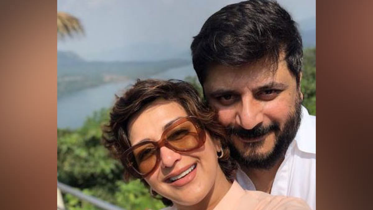 Sonali Bendre with husband Goldie Behl