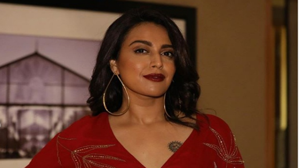 Bollywood actress Swara Bhasker