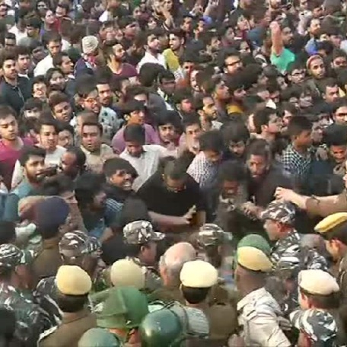 From sedition row to HRD Min being stuck for hours: Jagadesh Kumar's controversial tenure as JNU VC