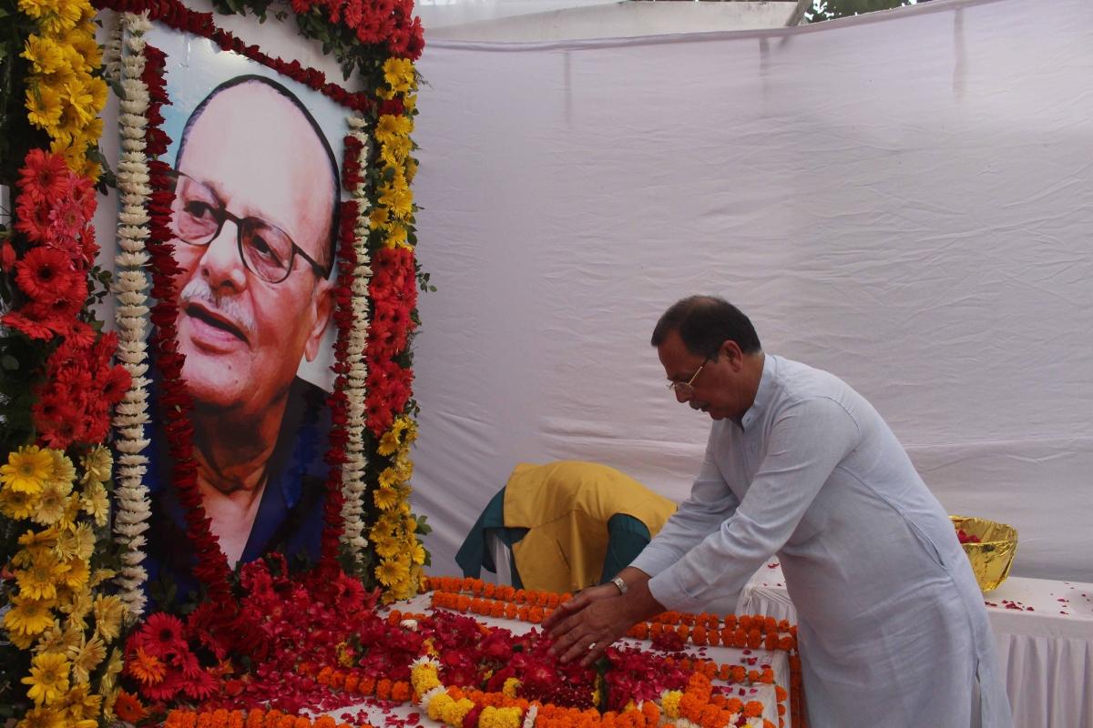 Bhopal: Late former CM Arjun Singh remembered