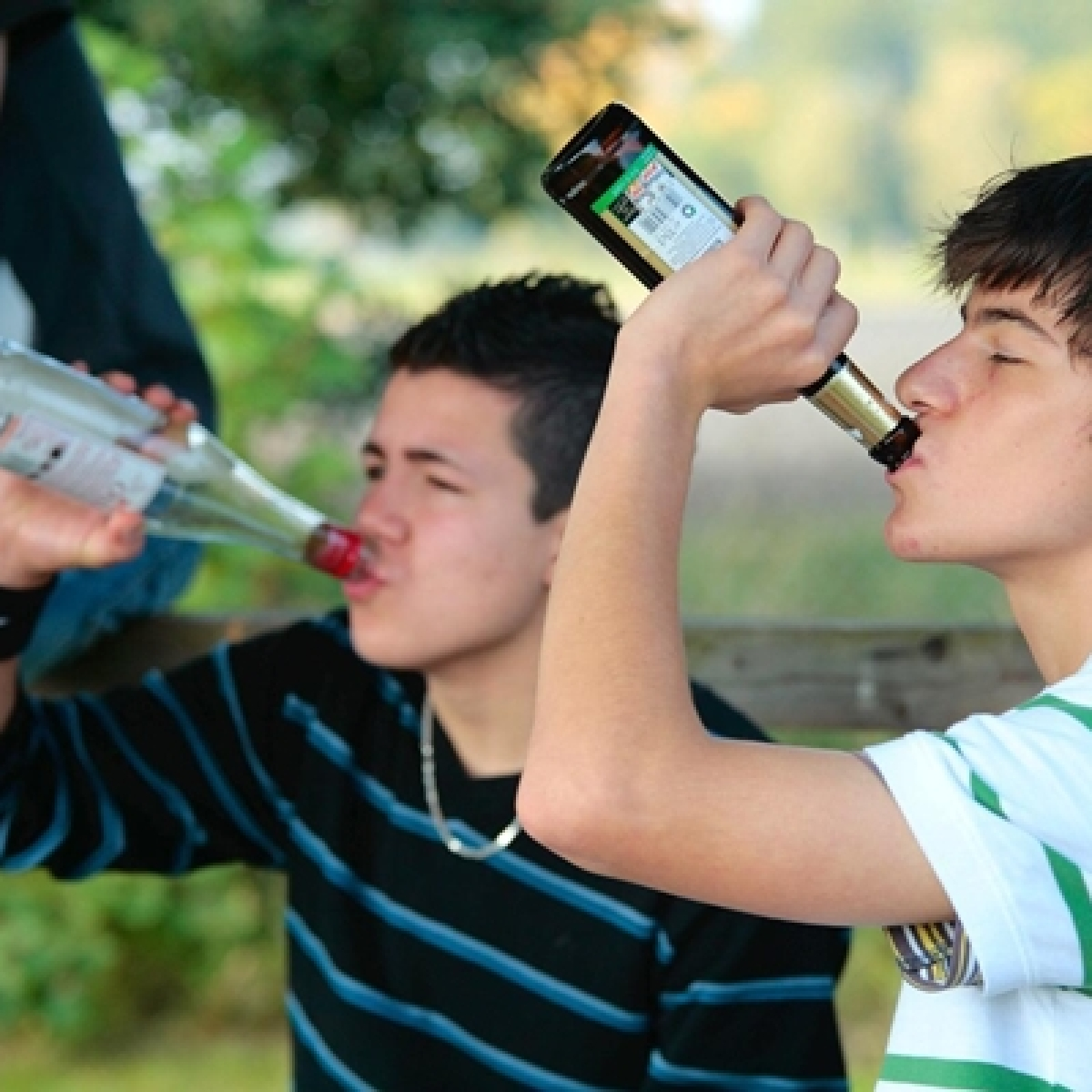 Is your adolescent hitting the bottle?