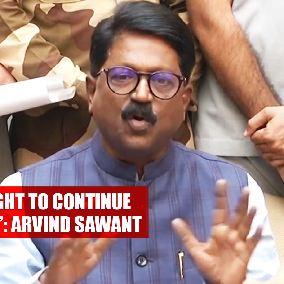 Arvind Sawant: 'Not Morally Right To Continue As Cabinet Minister'