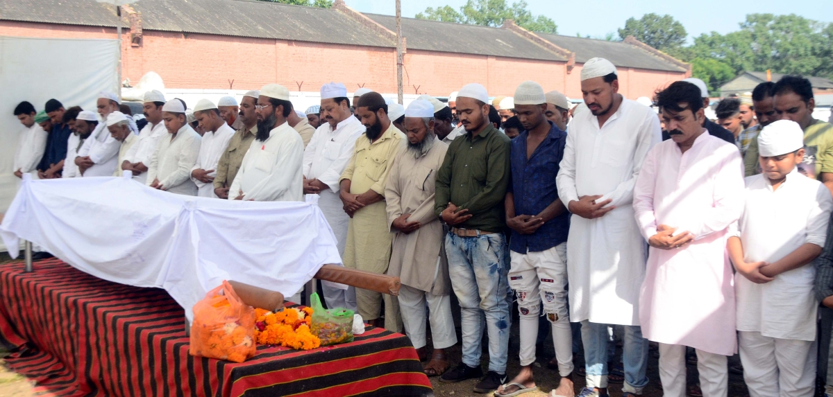 Bhopal: Abdul Jabbar cremated