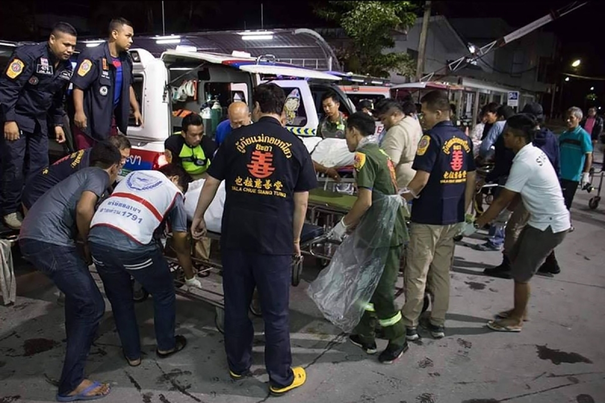 15 people killed and several injured in Thailand's Yala province