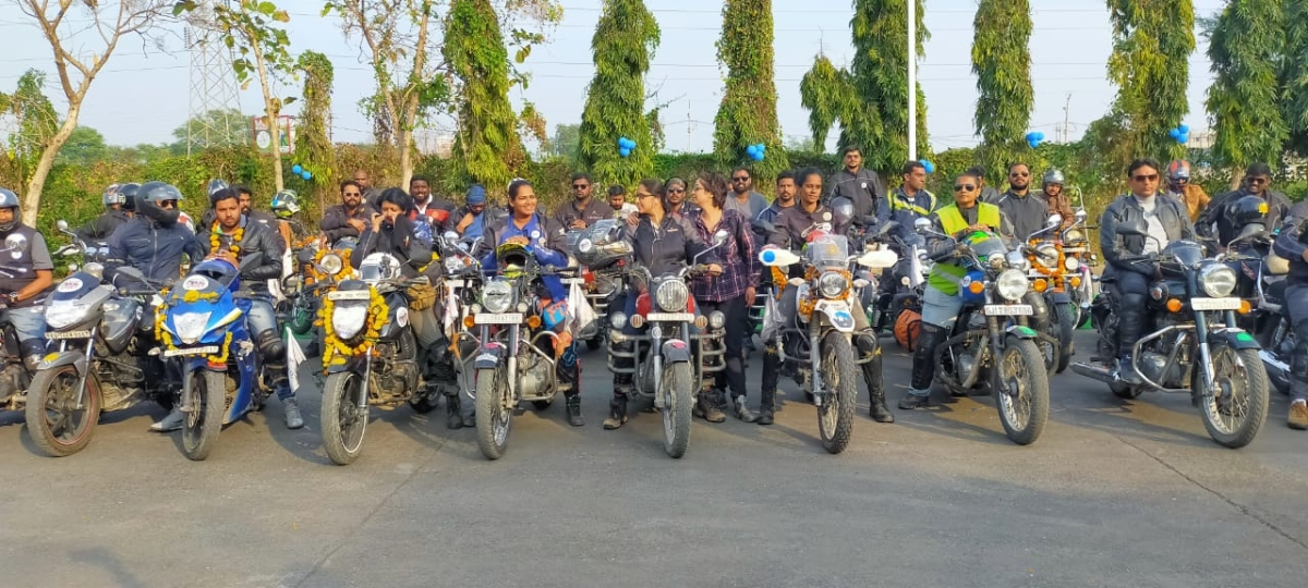 Ujjain: 50 youngsters covering 25k km distance arrive in city