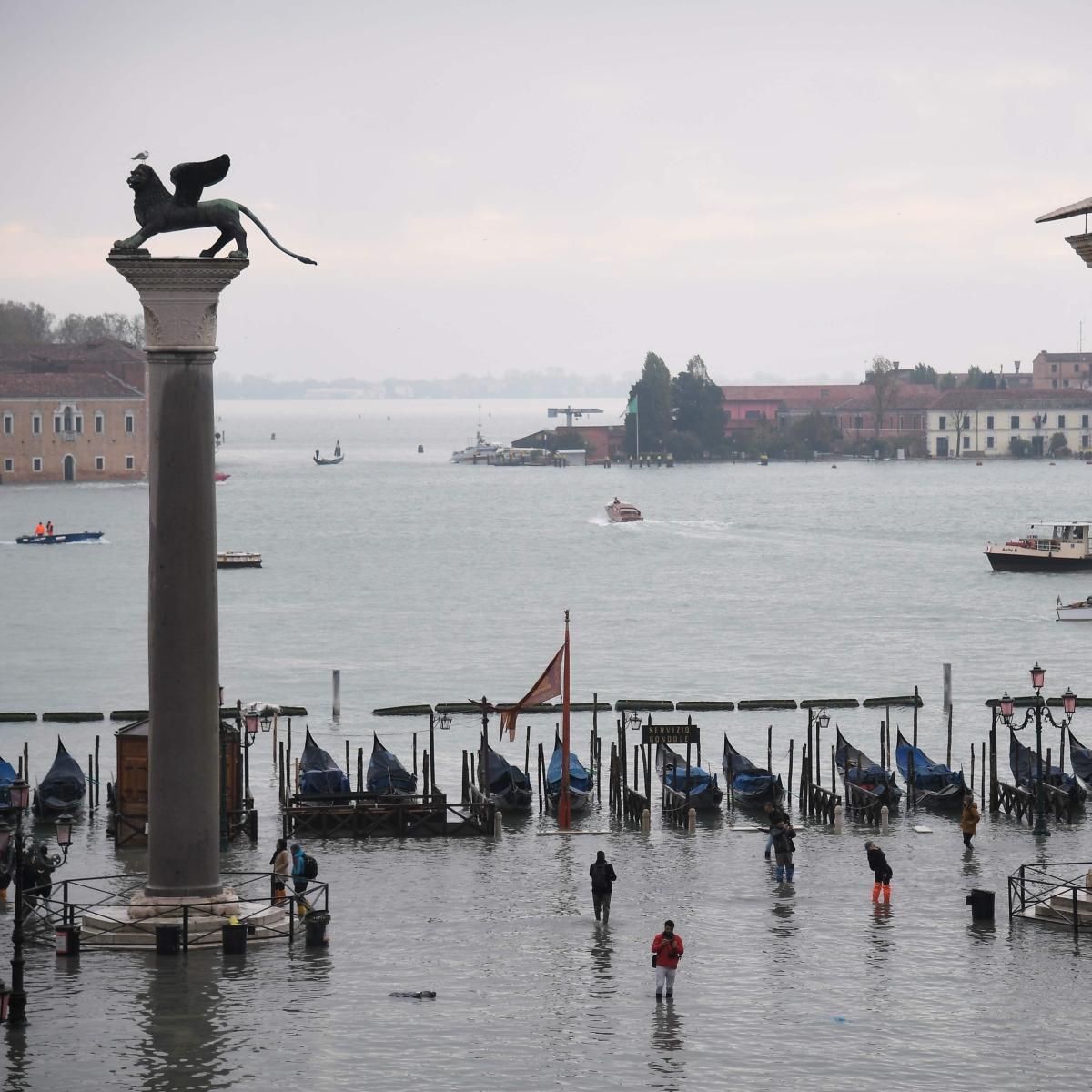 Venice floods: Mayor Luigi Brugnaro blames Climate change for the High Tides