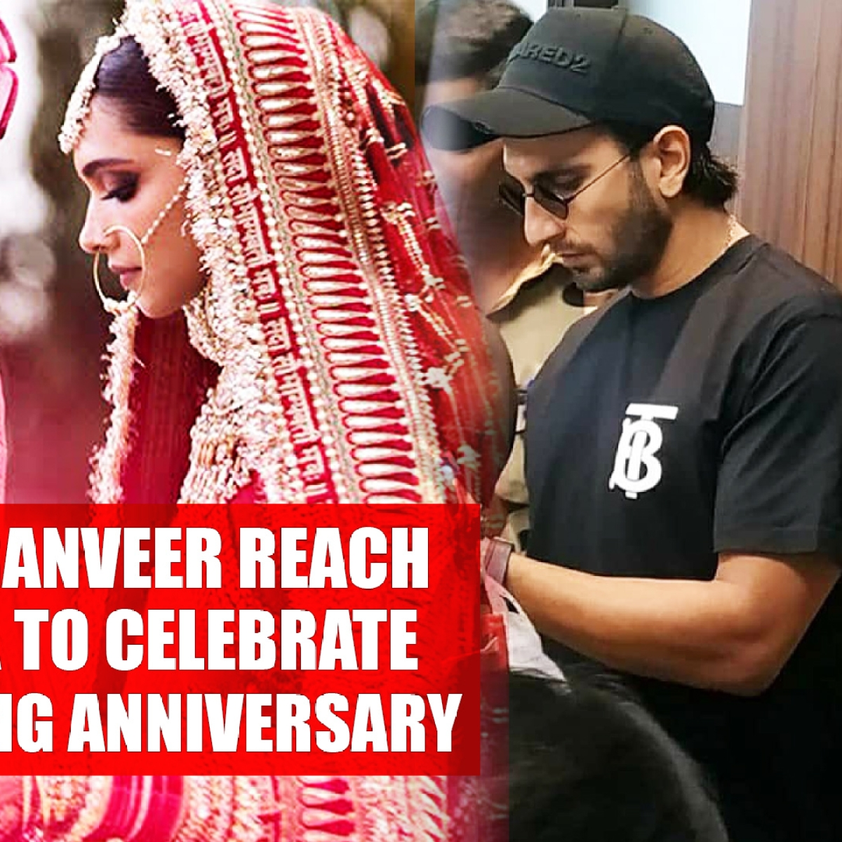Deepika, Ranveer Reach Tirumala To Celebrate 1st Wedding Anniversary