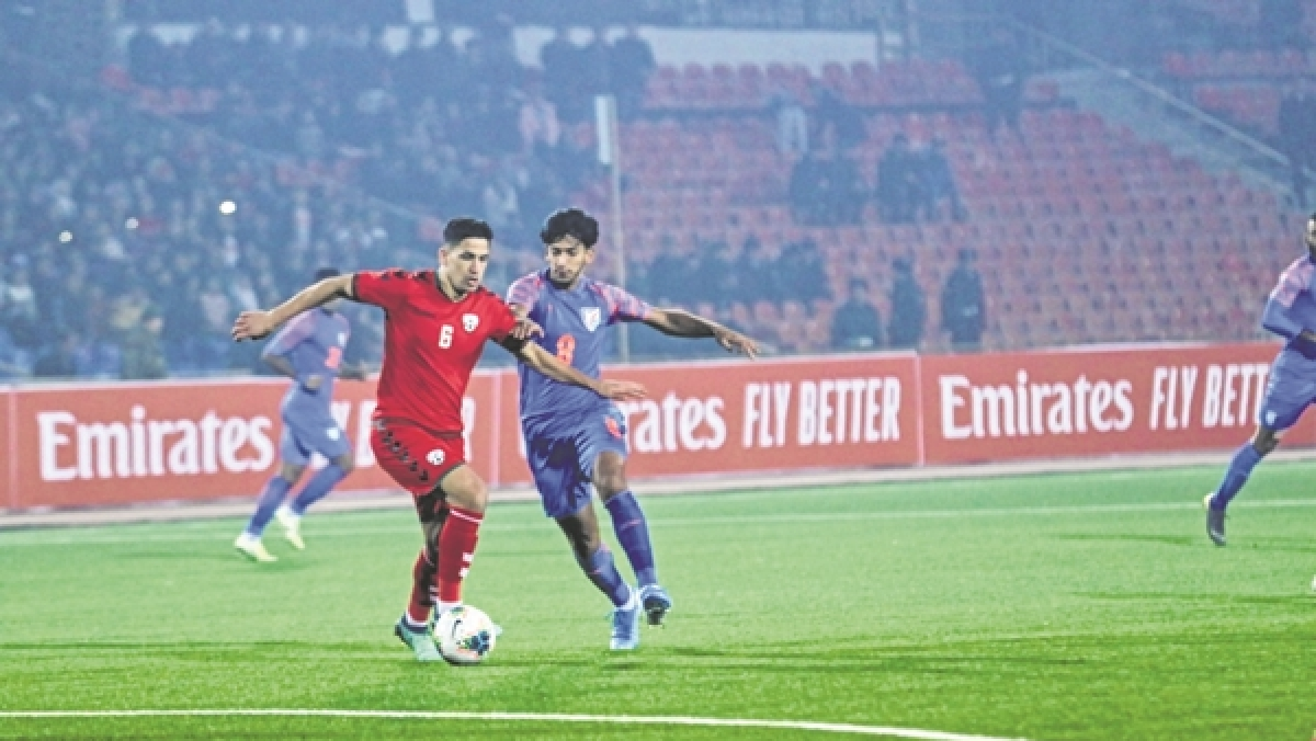FIFA World Cup Qualifier: Injury-time goal saves India blushes
