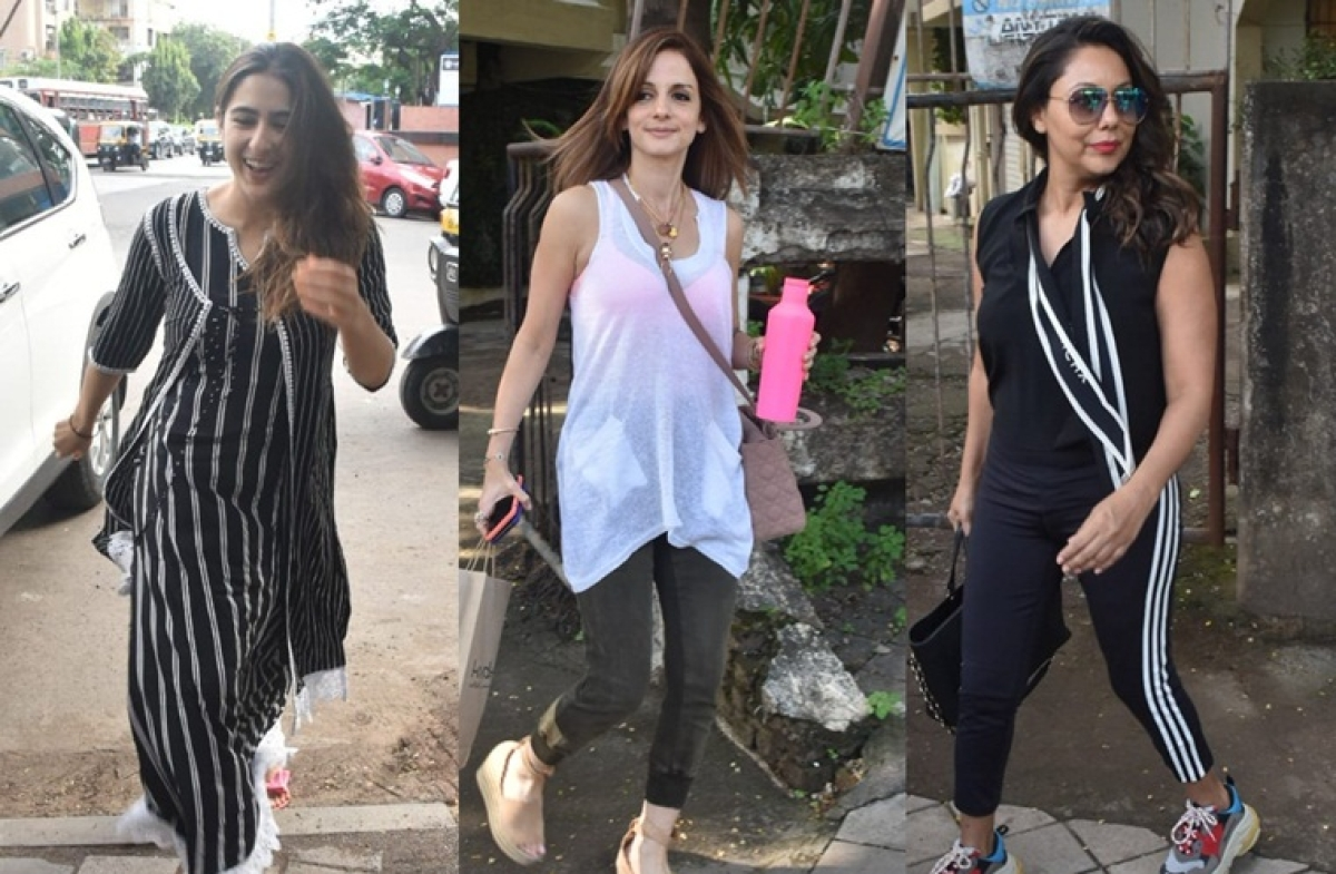 Sara Ali Khan, Sussanne Khan and Gauri Khan just showed us why bad hair days don't exist  for these B-town beauties