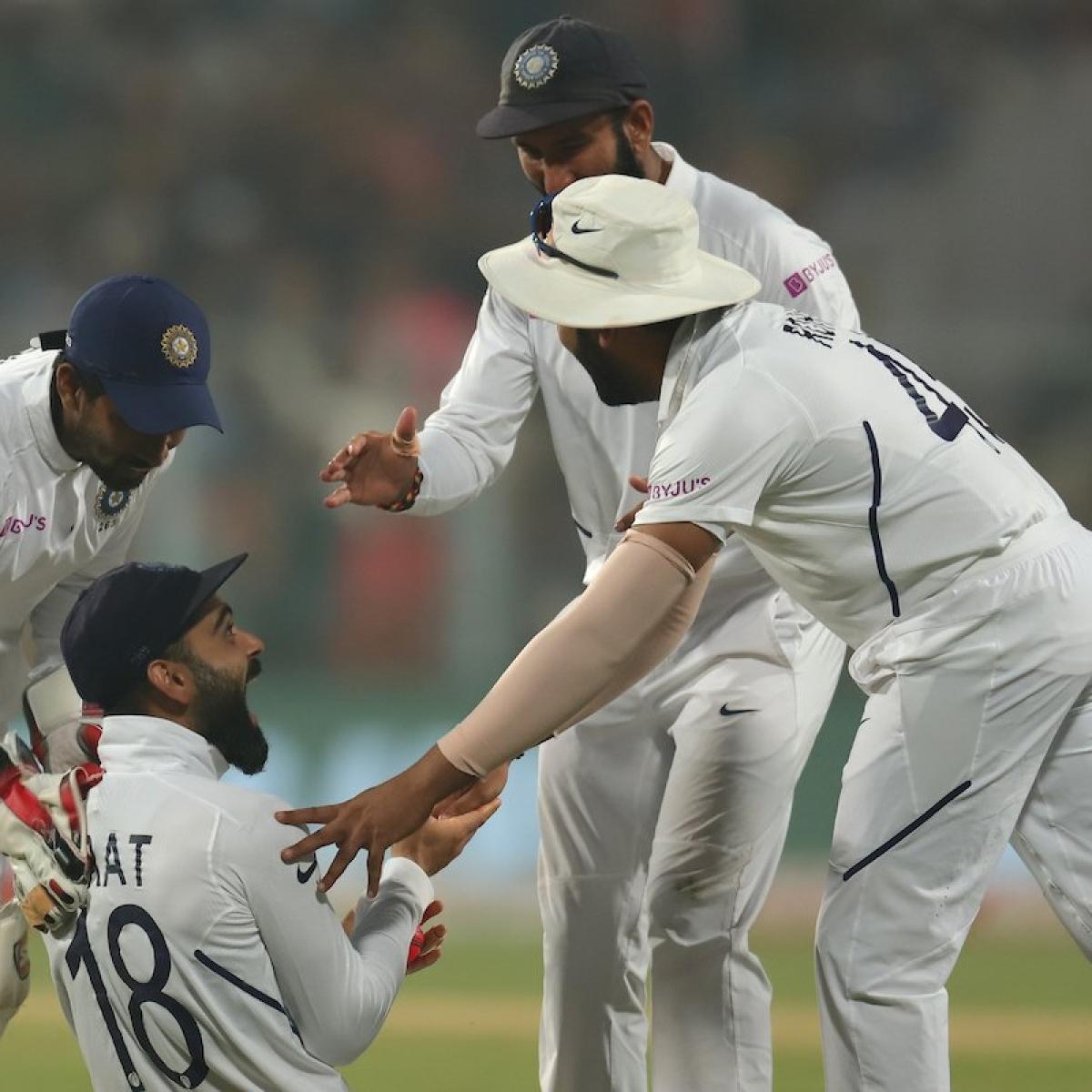 India vs Bangladesh: Kohli, Ishant push closer to win pink ball Test