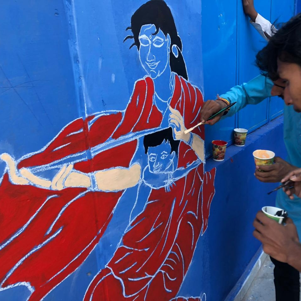 Bhopal: Messages of child rights painted walls of govt school