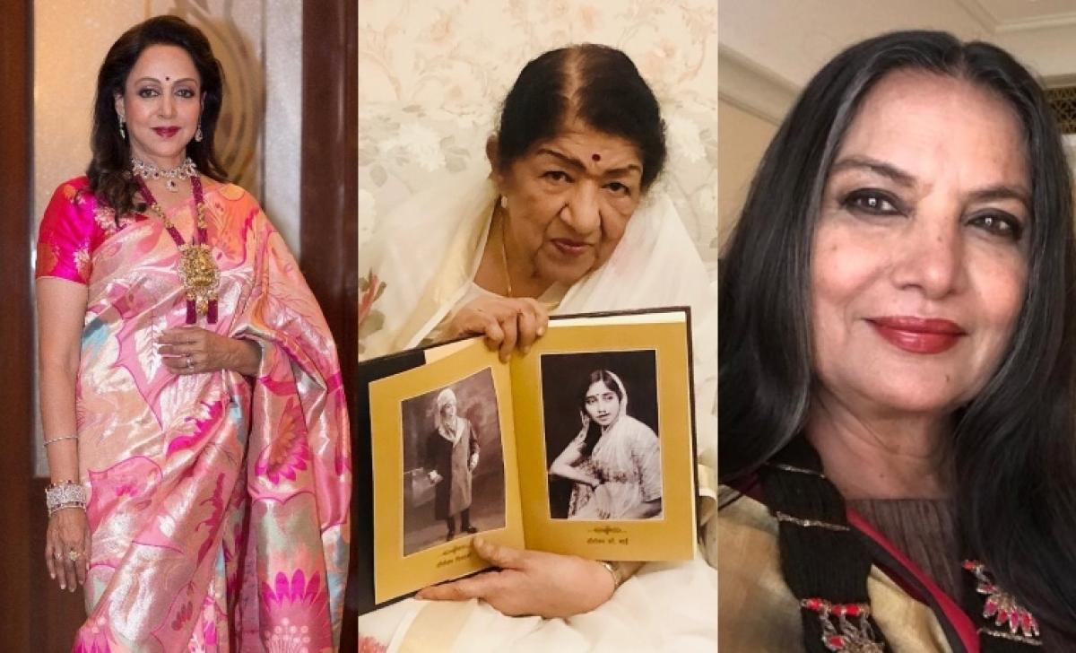 Shabana Azmi, Hema Malini, and other celebs wish Lata Mangeshkar a speedy recovery