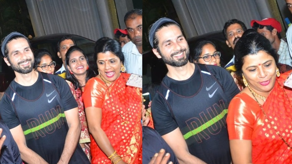 Sorry Shahid Kapoor, but the woman in red saree is stealing all your thunder