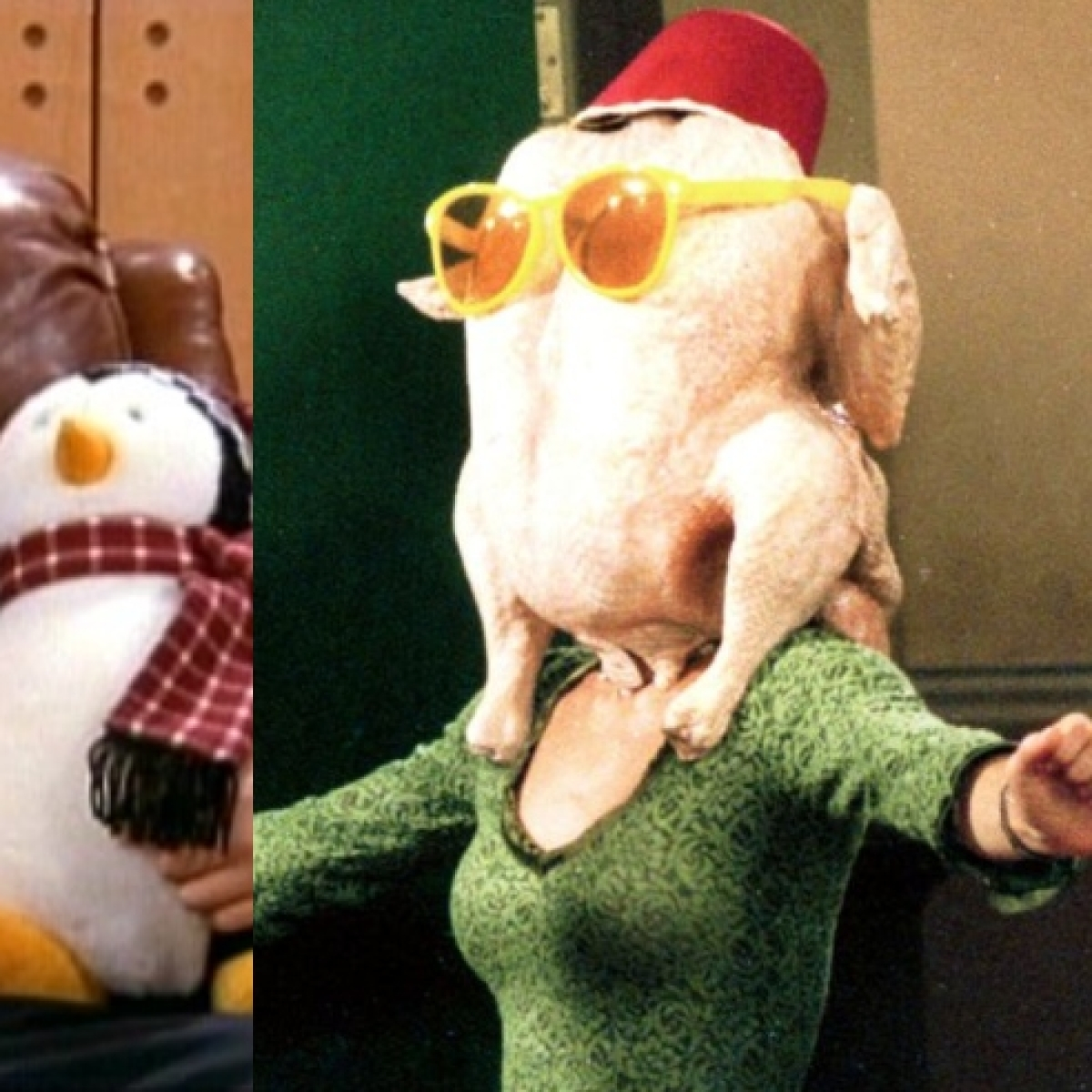 Hugsy, Turkey head and other iconic props from 'Friends' are going up for auction