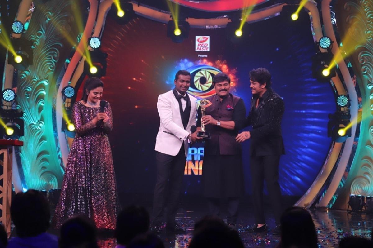 Bigg Boss Telugu 3: Rahul Sipligunj wins trophy, takes home Rs 50 lakh