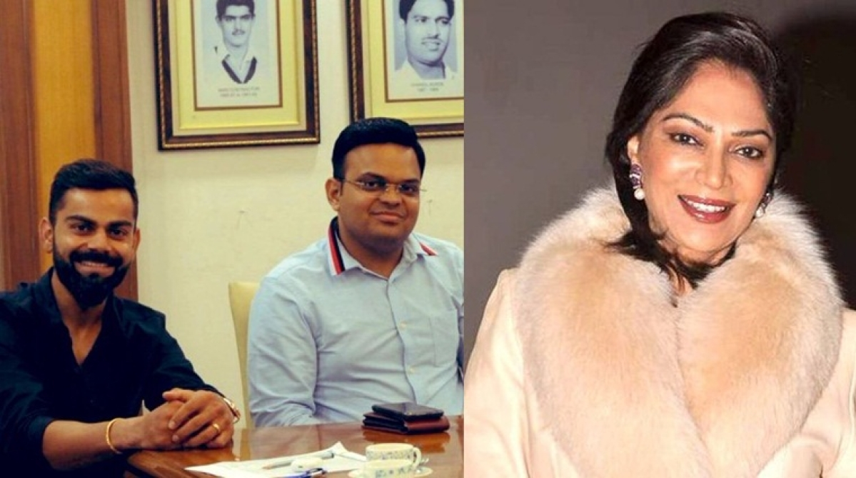 They said they are not giving blue ticks: Simi Garewal goads Twitter over 'lucky' Jay Shah's official account