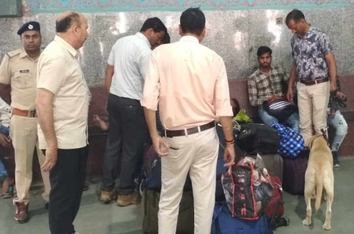 Indore: Security arrangements beefed-up at railway station