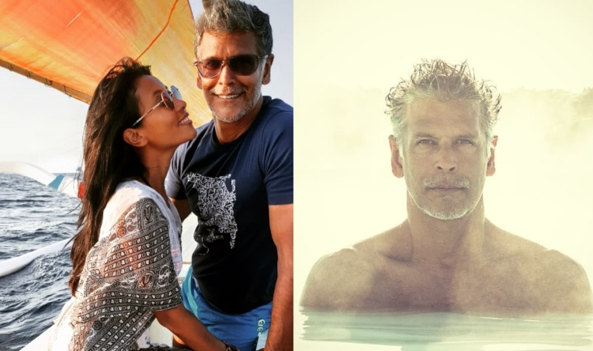 Milind Soman's birthday pic at 54 is proof he has figured out how to reverse ageing