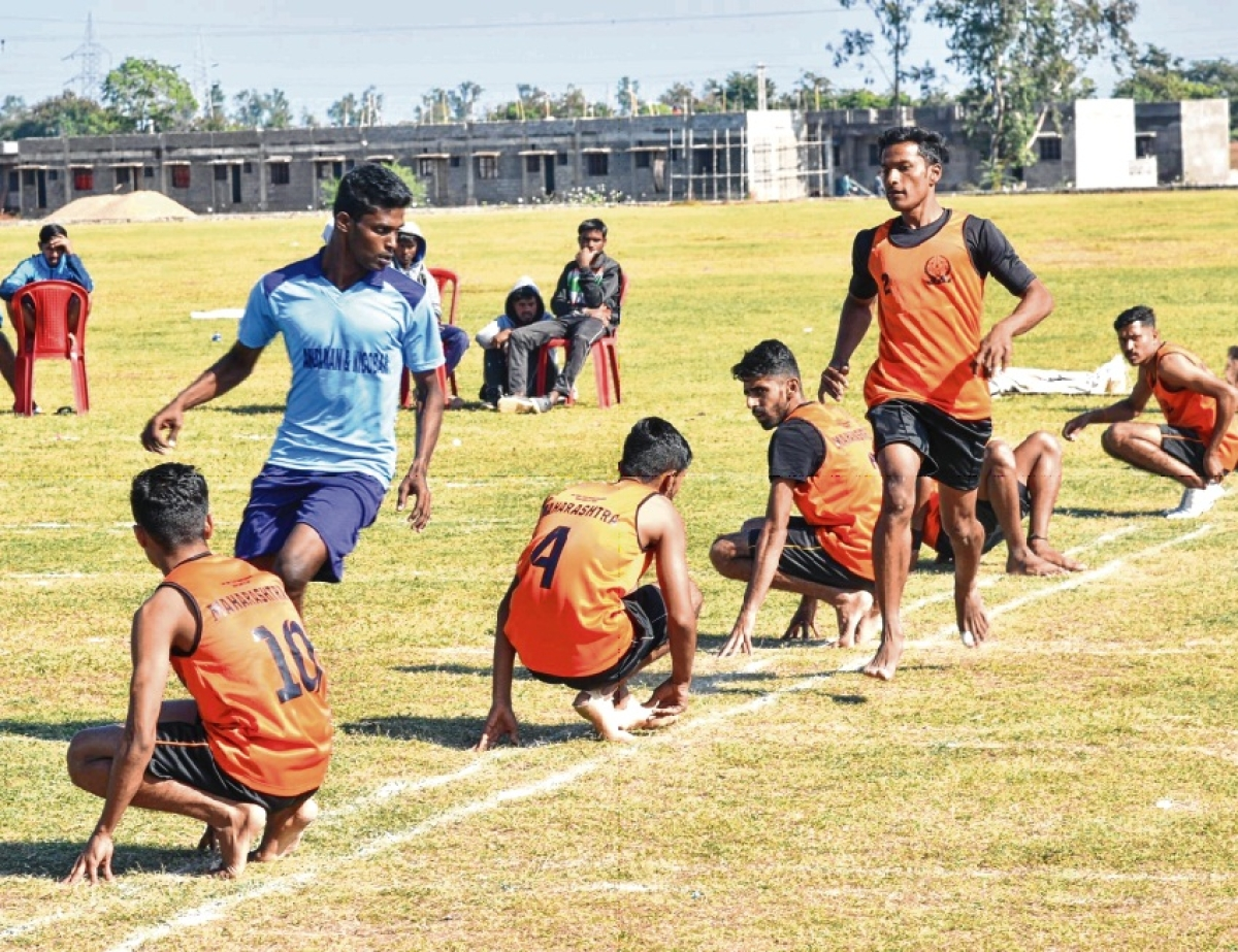Maha bag two wins at National Kho Kho Championships