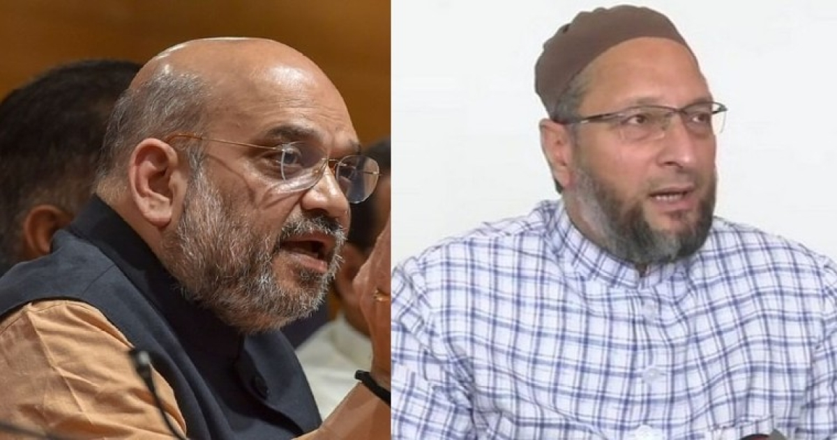 Amit Shah claims no NRC discussion yet, Owaisi hits back with HM's parliament video