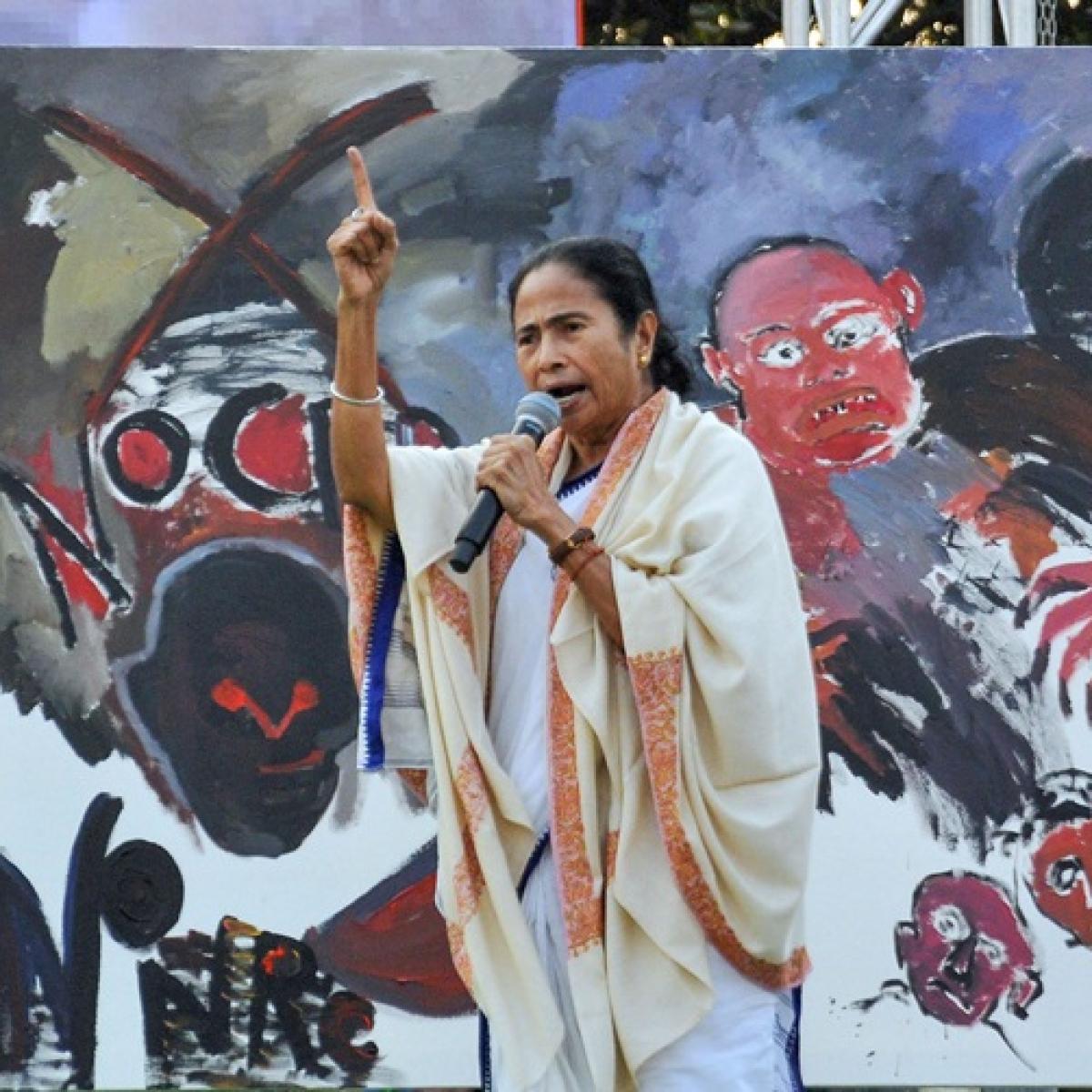 CAA protests: Mamata Banerjee's CaaCaaChiChi slogan goes viral on social media