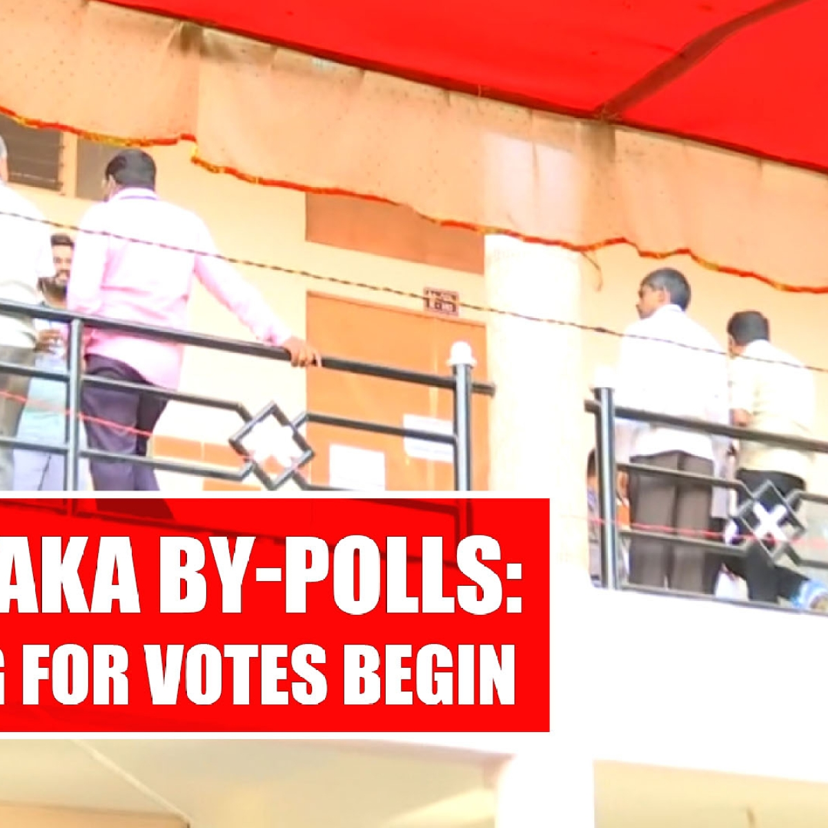 Karnataka by-polls: Counting for votes begin