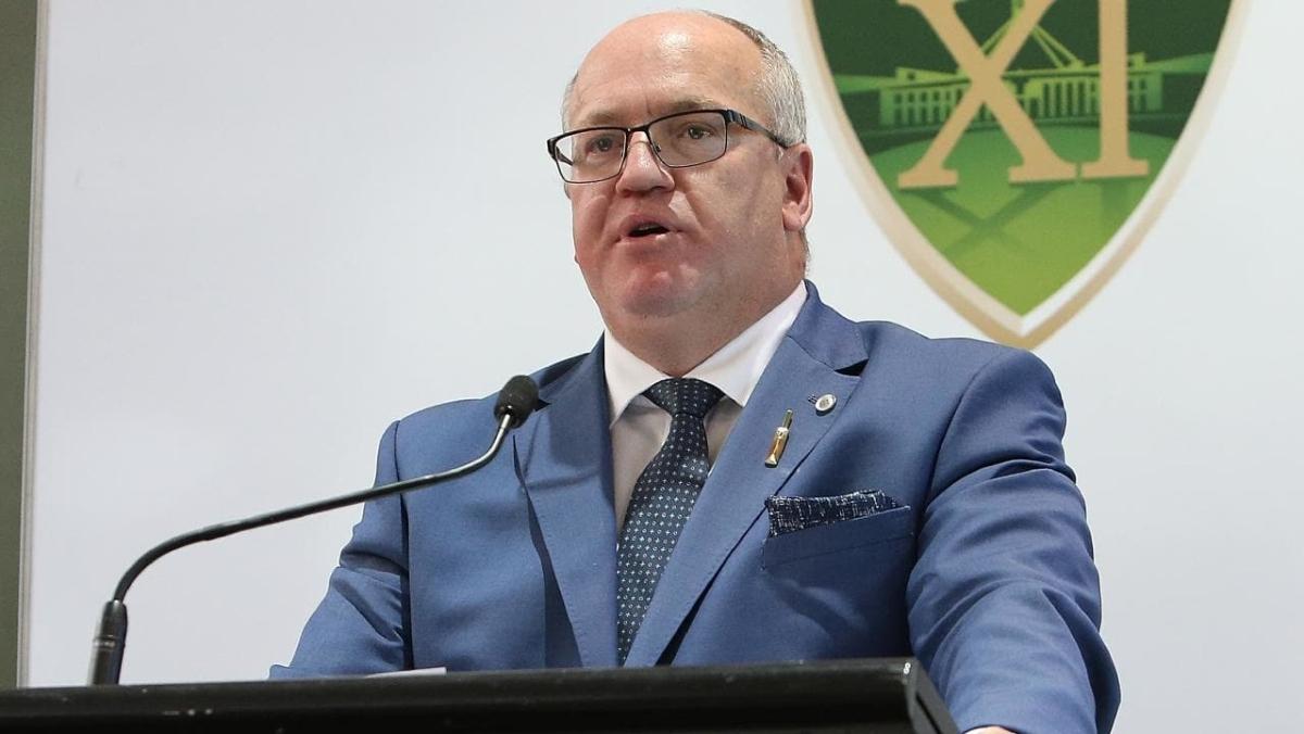 Cricket Australia chairman Earl Eddings