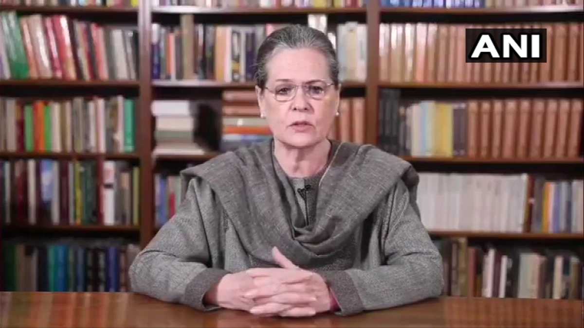 Why suppressing voices with brute force? says Sonia Gandhi