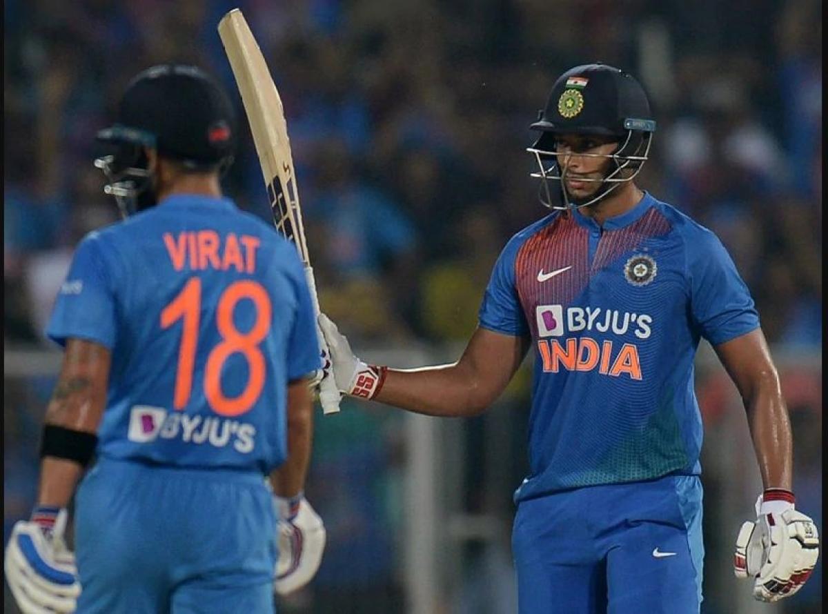 Virat Kohli explains the reason to send Shivam Dube at no.3