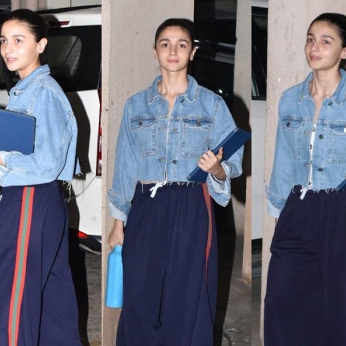 Joker in Mumbai? No wait it's Alia Bhatt and her weird pants