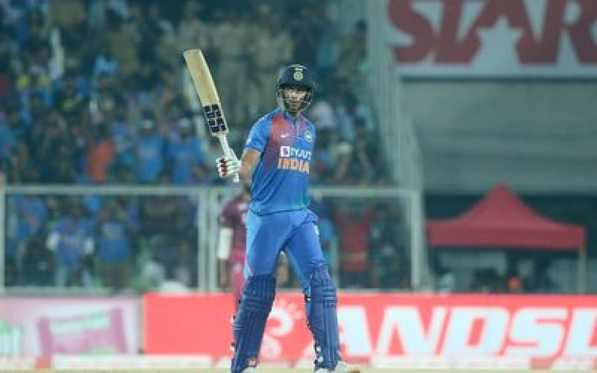 Ind vs WI: Shivam Dube scores his maiden T20I half-century