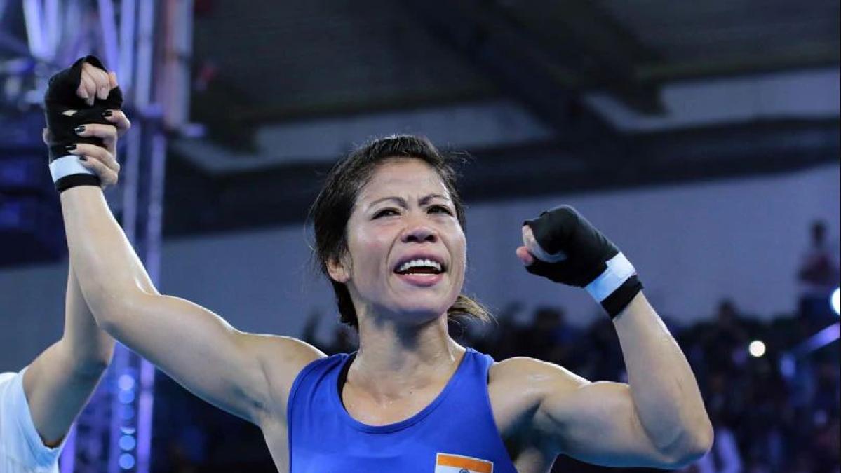 Indian boxer MC Mary Kom