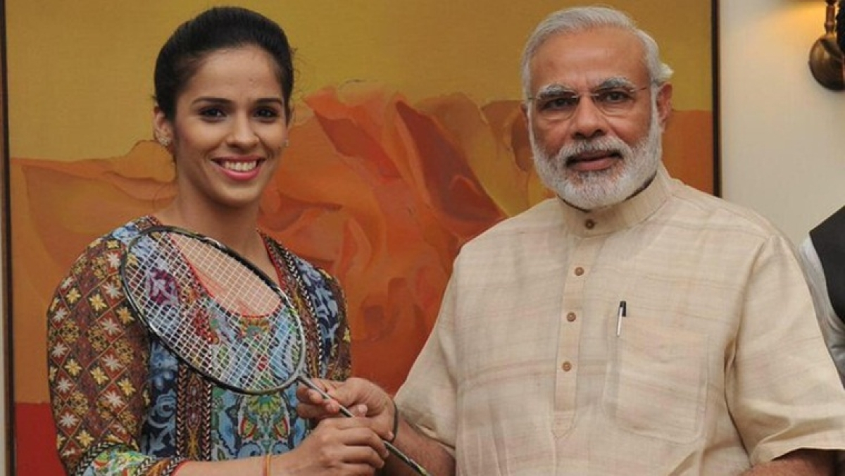 'Didn't know you could play badminton without a spine': Saina Nehwal called out for comment on Modi's speech