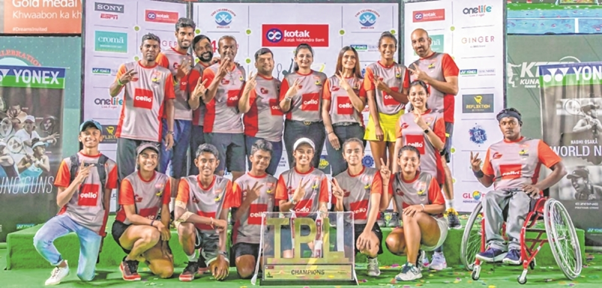 Kotak Mahindra Bank Tennis Premier League: Pune Warriors emerge TPL champions