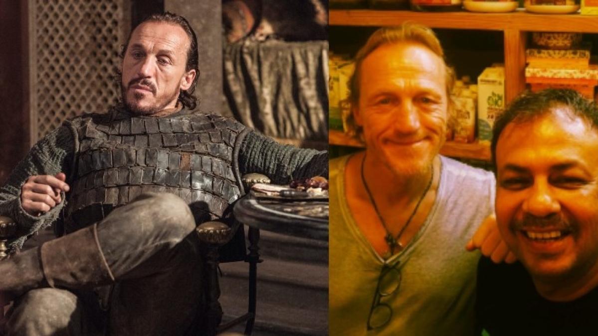 It's true! Jerome Flynn aka Ser Bronn of 'Game Of Thrones' is in Mumbai