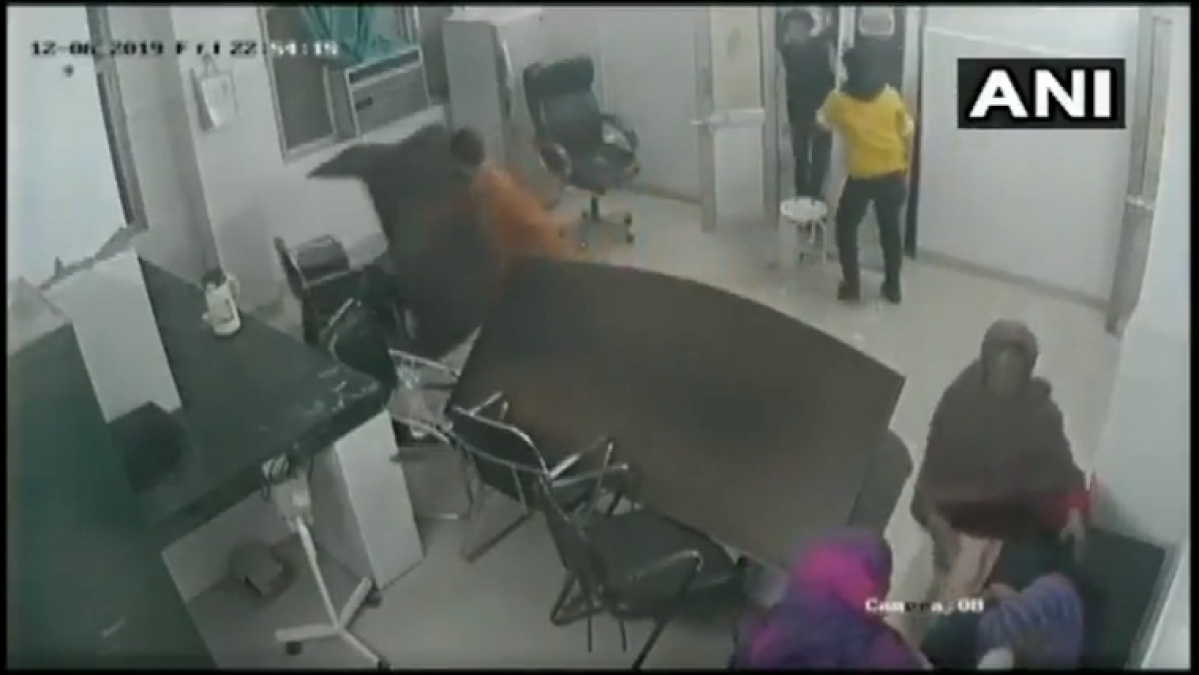 Watch: Patient's relatives vandalise hospital after being referred to different facility in Rampur