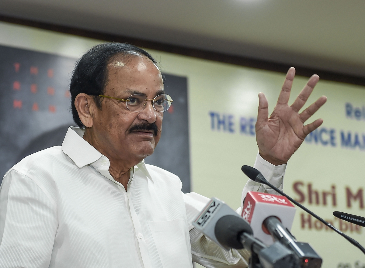 'Democracy and violence do not go together': VP Venkaiah Naidu on CAA protests