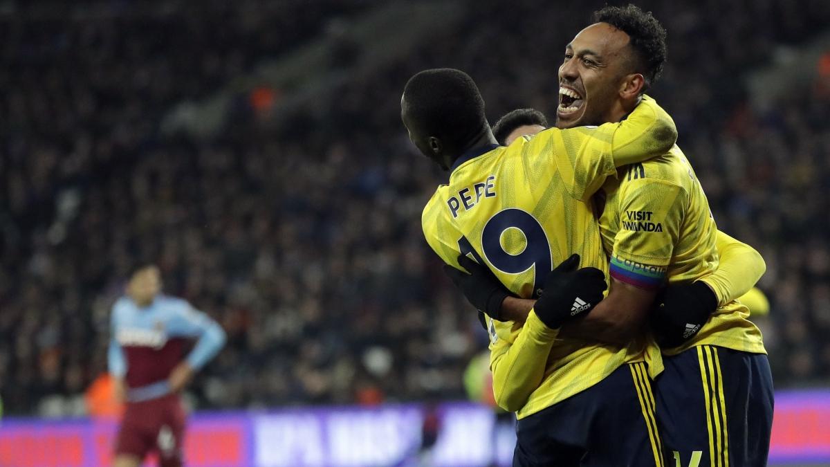 English Premier League: Gunners fire at last