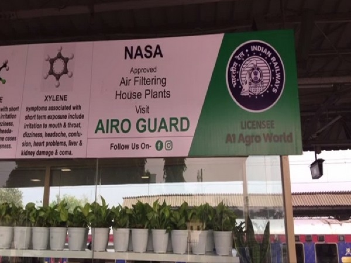 Maharashtra: 'Oxygen Parlour' at Nashik Railway Station to combat air pollution