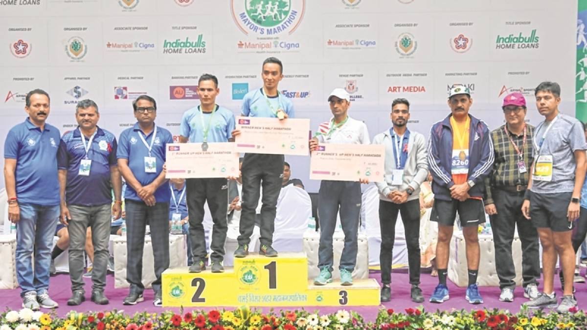 Armyman Anish Thapa wins in record time