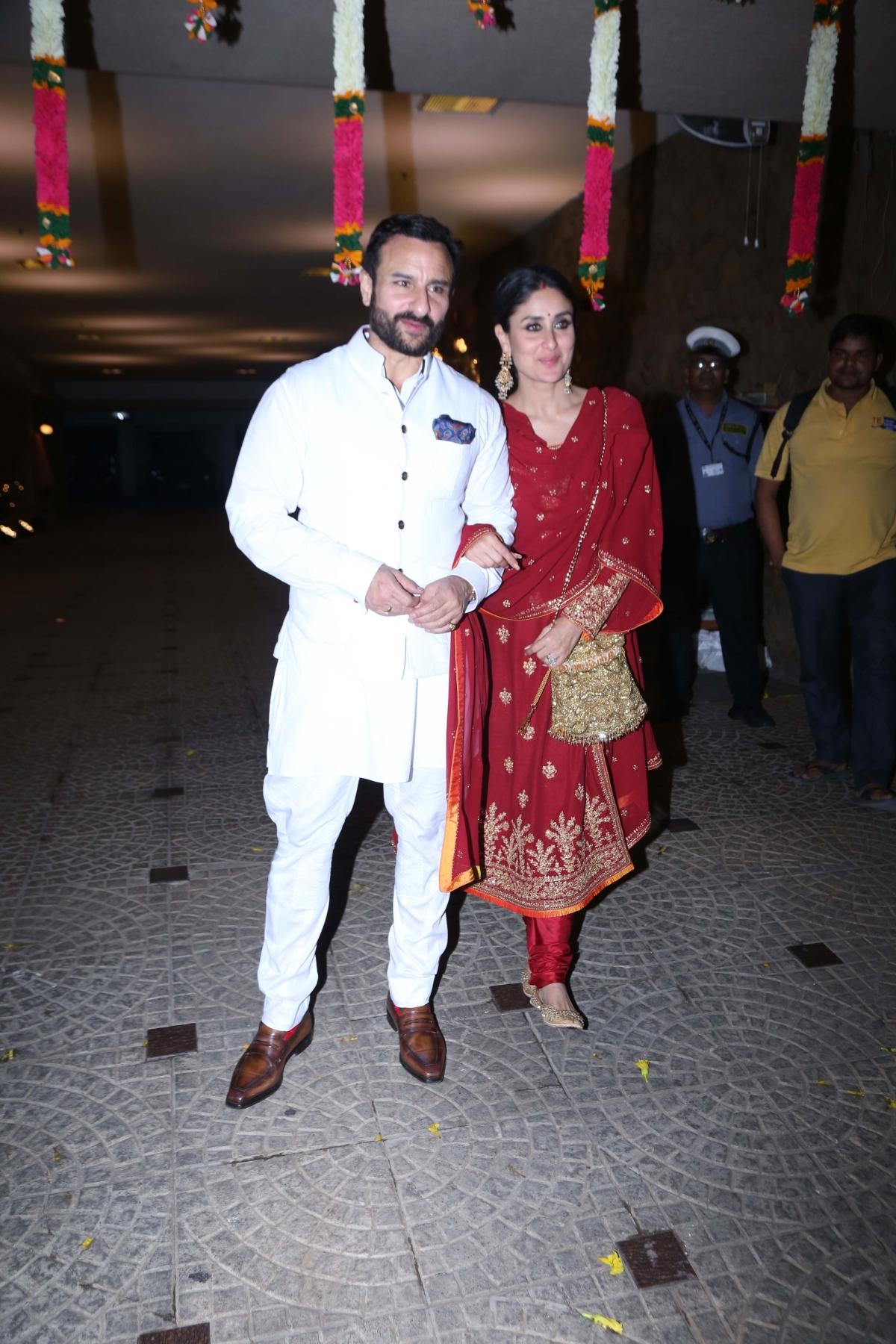 Saif Ali Khan and Kareena Kapoor Khan