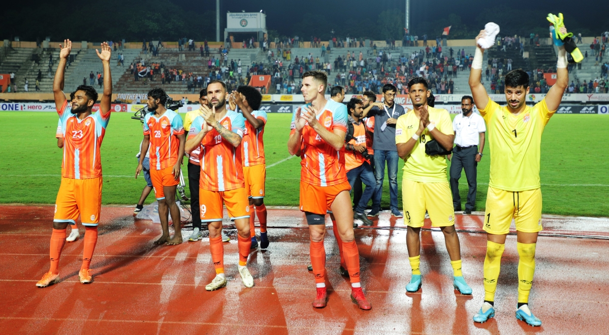 I-league: Adolfo Miranda's lone goal helps Chennai City FC's title defence with a victory